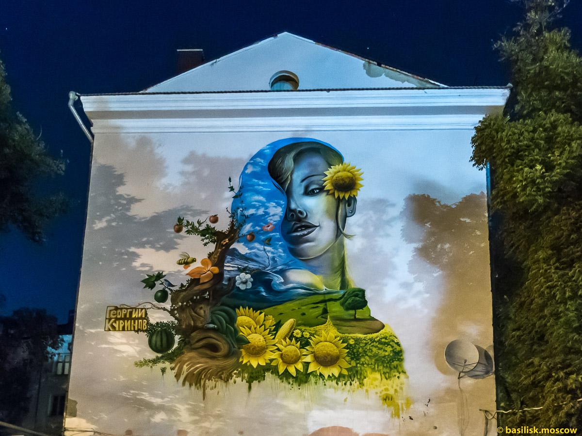 Кубань как она есть. Краснодарский стрит-арт. Краснодар. Октябрь 2016