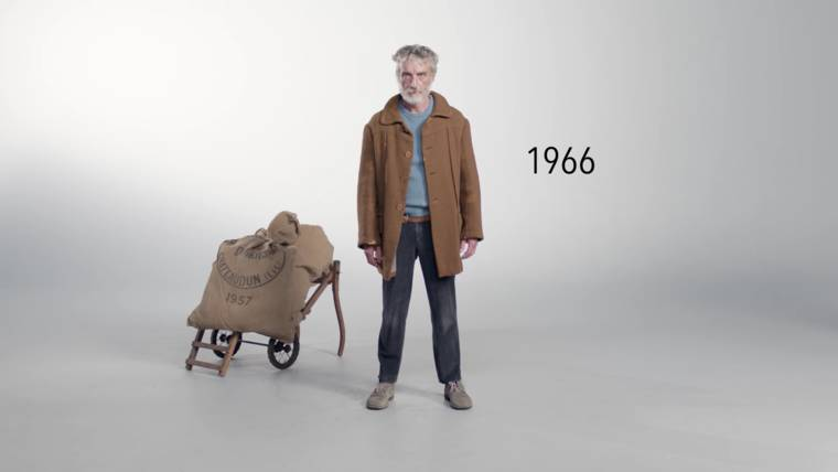 100 years of poverty in a minute - A satirical and powerful campaign
