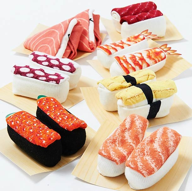 Sushi Socks - Beautiful socks for all the sushi addicts