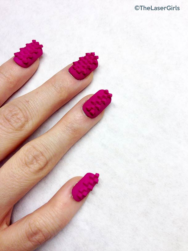 TheLaserGirls - 3D printed nail art and jewelry!