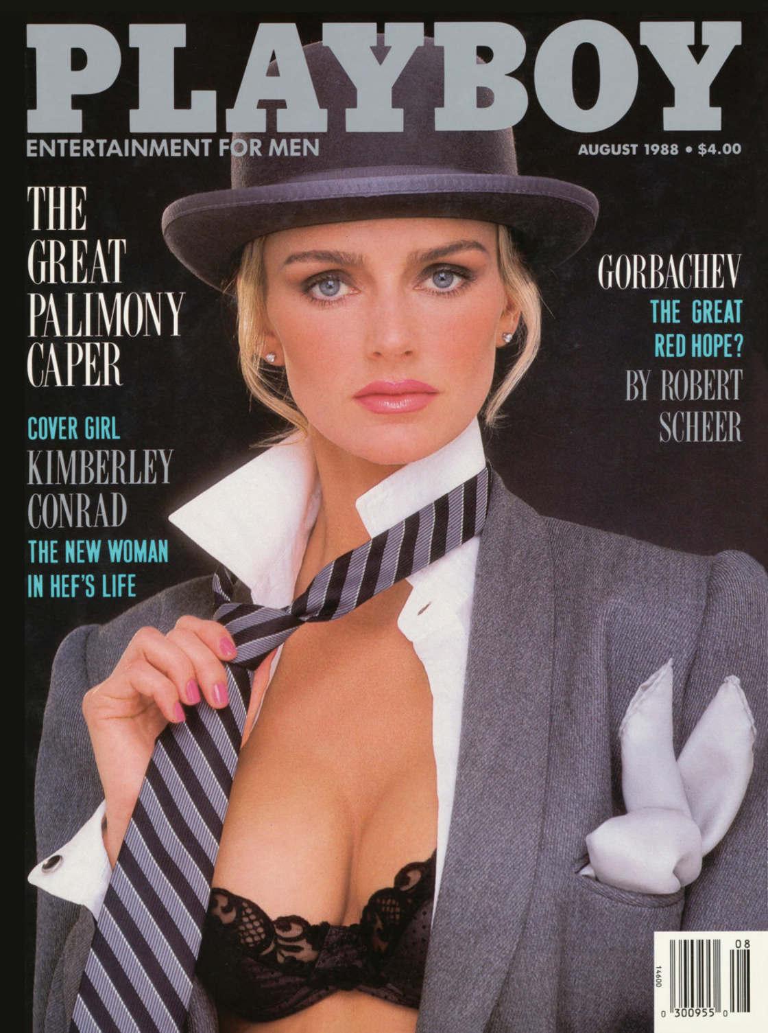 KIMBERLEY CONRAD HEFNER - Playmate 1988