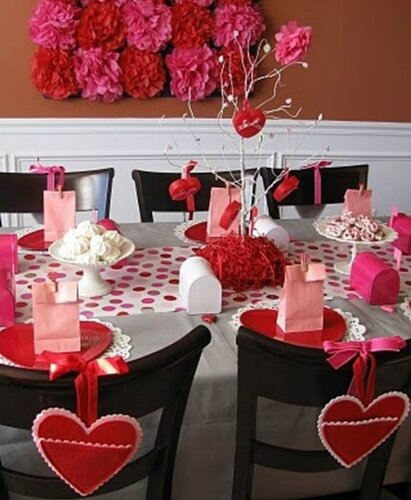 День святого Валентина: идеи оформления праздничного стола