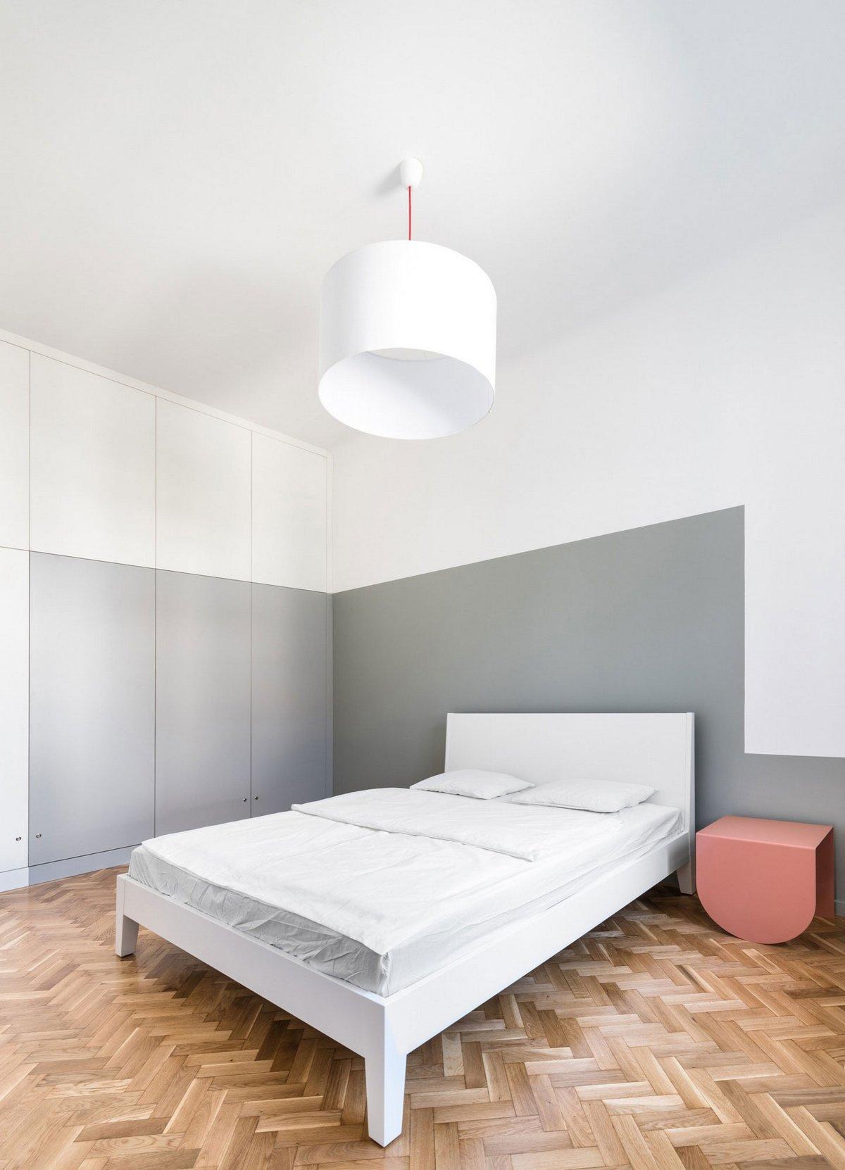 Монохромная квартира в Будапеште