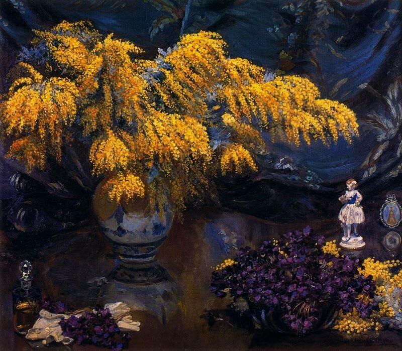 Ignacio Diaz Olano Violetas y mimosas.jpg