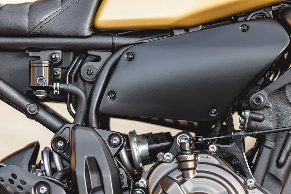 Macco Motors: кастом Yamaha XSR700