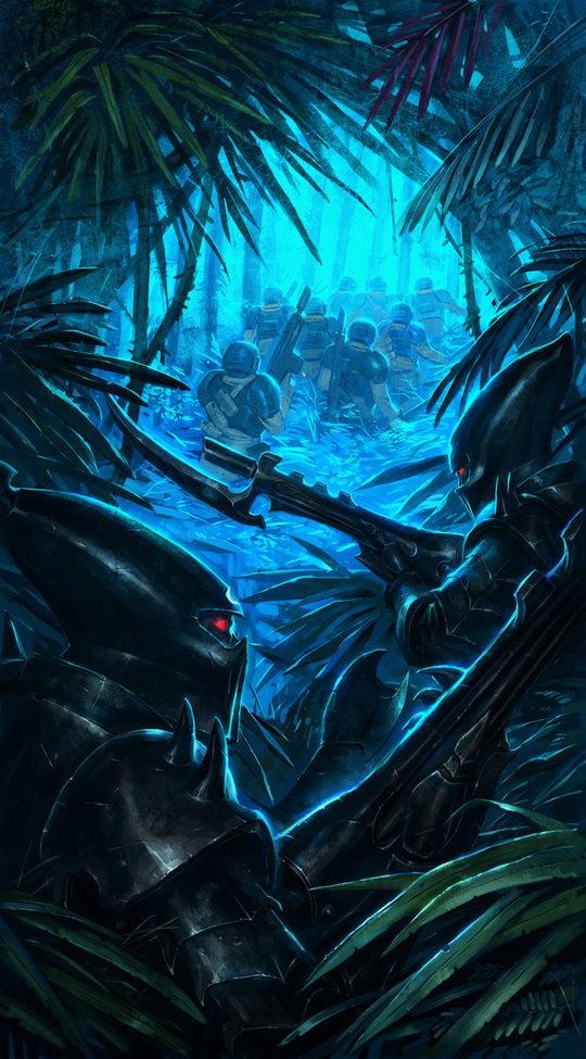 Sci-Fi Fantasy Art by Ameeeeba