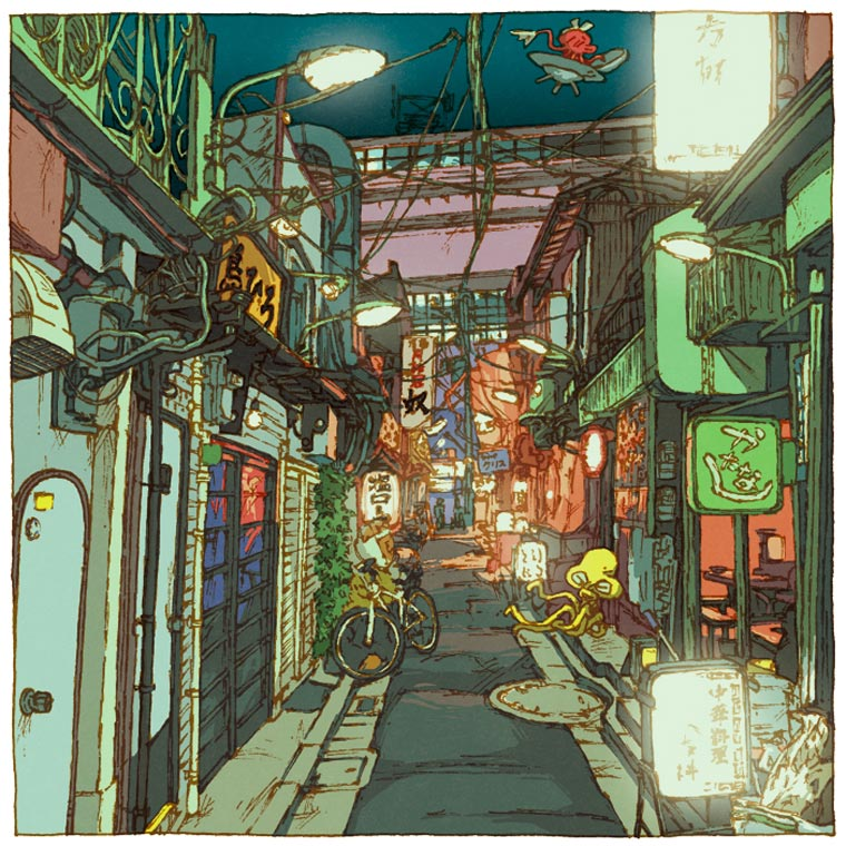 Tokyo 100 Views - Discover Tokyo through 100 beautiful illustrations