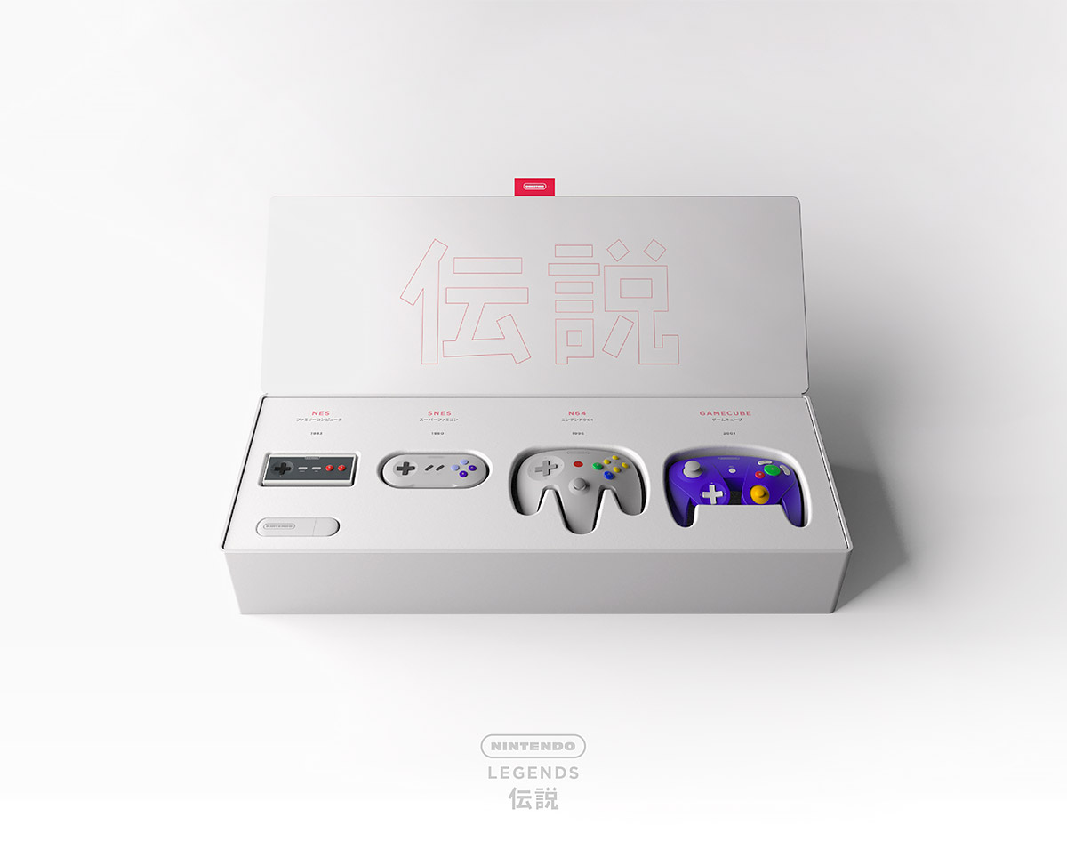 Nintendo Legends: The iconic Nintendo experience redesigned