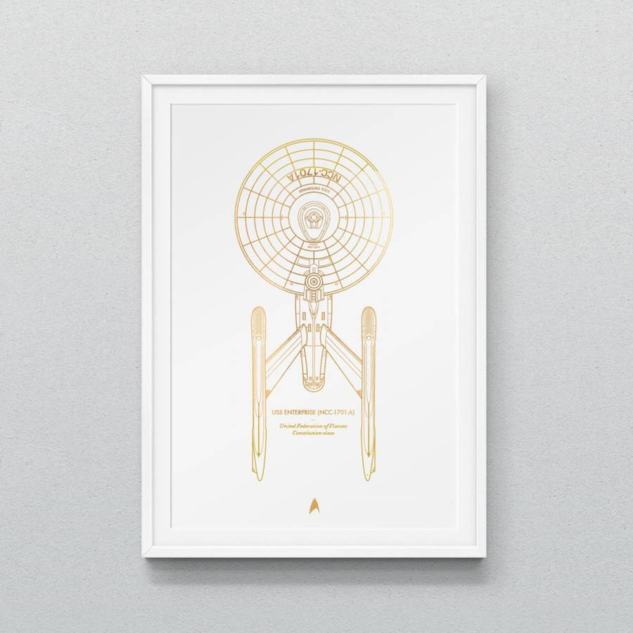 Latest Star Strek Spaceships Prints by Dean Smith (4 pics)