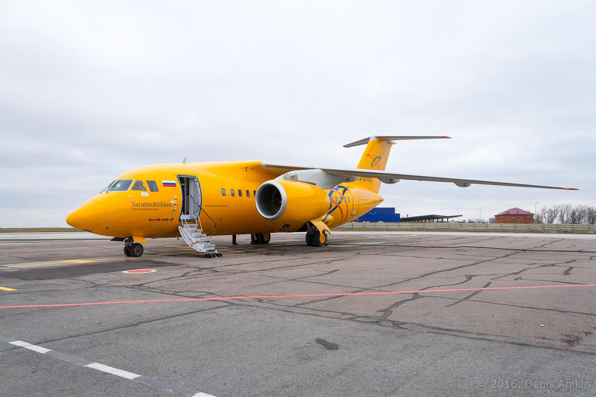 ан-148 аэропорт саратов саратовские авиалинии фото 10