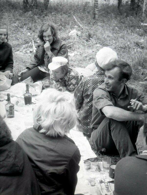 1972-1975 гг. Колхозные работы