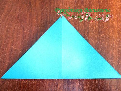 пуансеттия оригами, мастер-класс, цветы из бумаги, рукоделки василисы