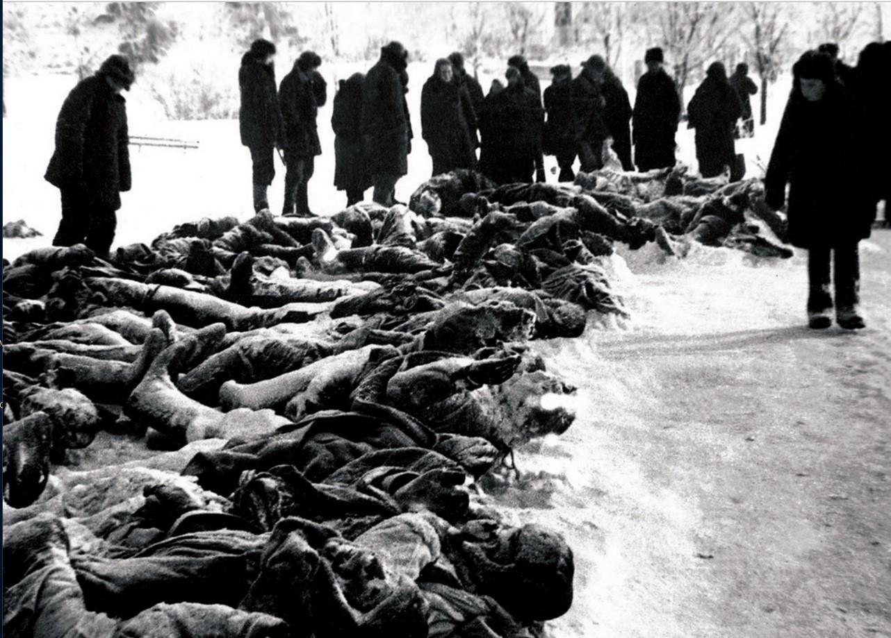 1941-1942. Освобождение Калуги. Кровавый след фашистских разбойников