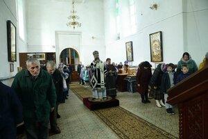 Архиерейское богослужение в Старо-Воскресенском храме г. Вичуга