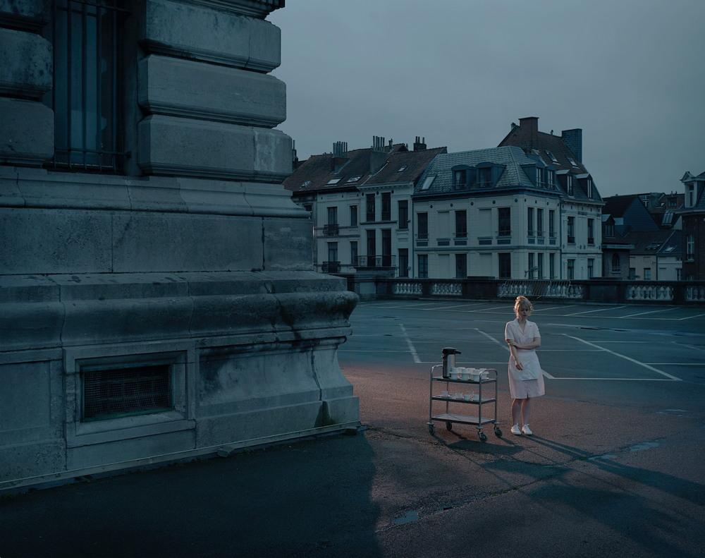 Кинематографичные и атмосферные уличные фотографии Geert De Taeye
