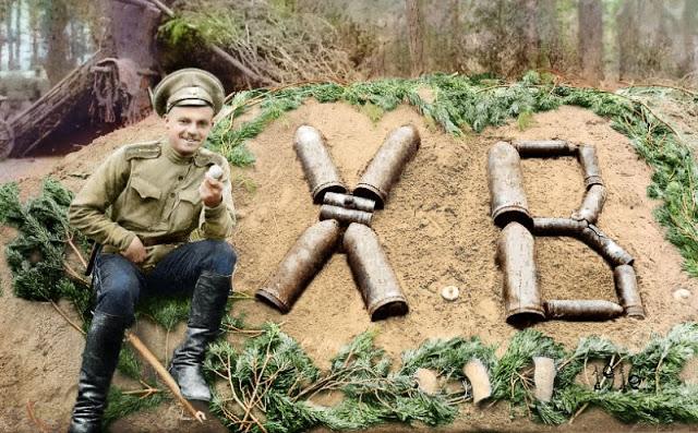 Российские солдаты в Первой мировой войне