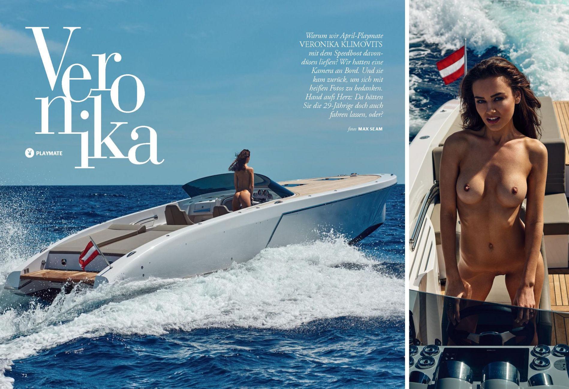 Veronika Klimovits for Playboy Germany April 2018