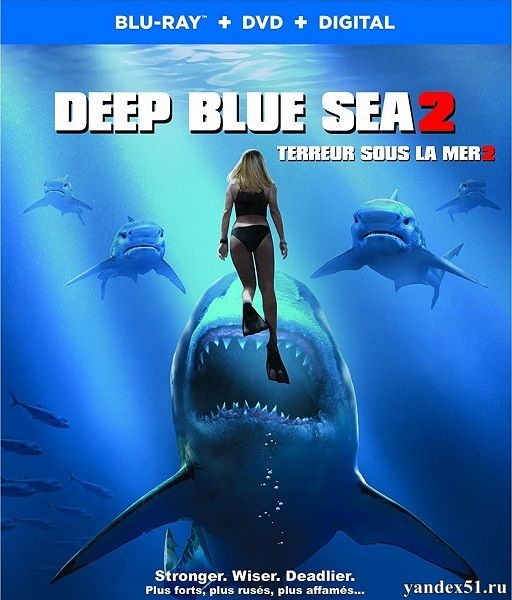 Глубокое синее море 2 / Deep Blue Sea 2 (2018/BDRip/HDRip)
