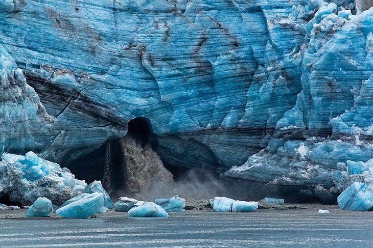 айсберги Аляска заповедник