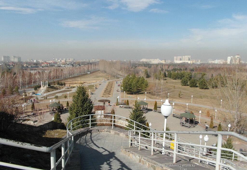 Панорама Парка Первого Президента