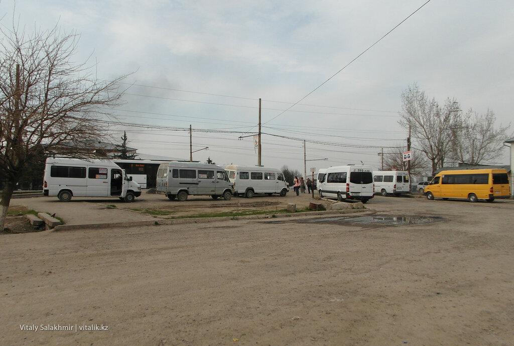 Маршрутки Новый автовокзал