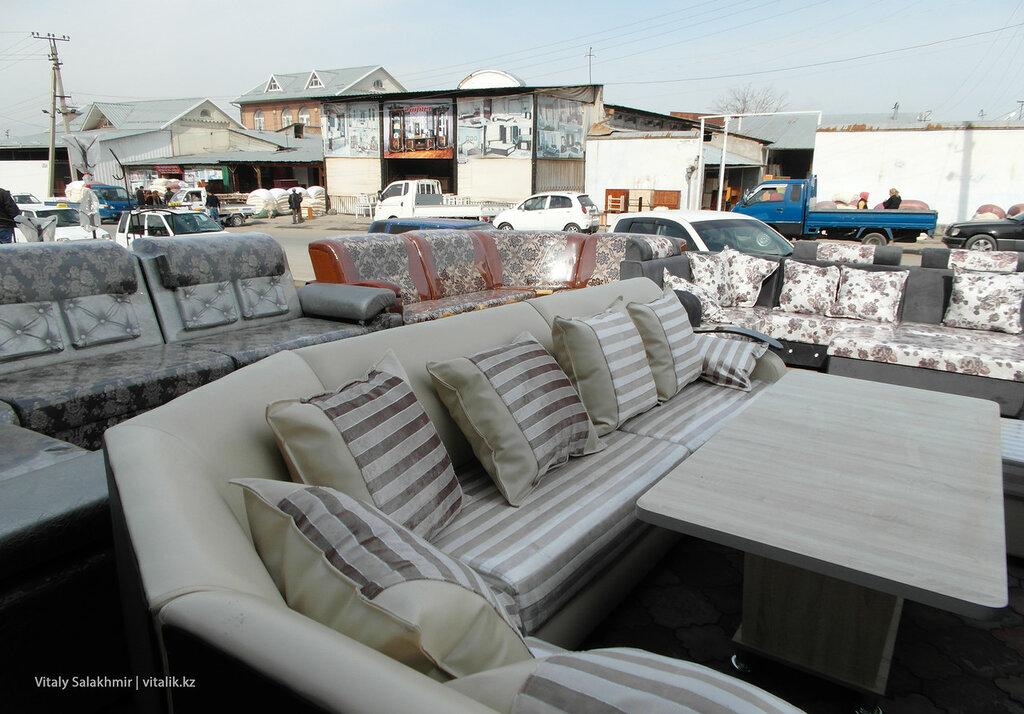 Мебельный рынок Ош