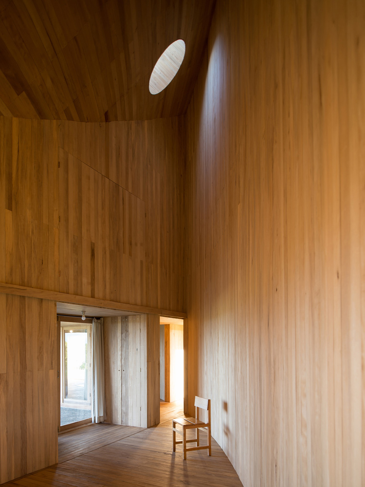 Amazing Half-Moon Shaped Home in Chile