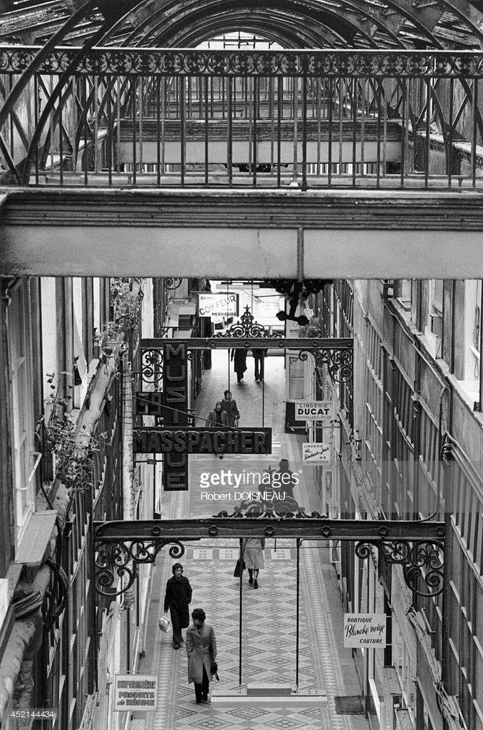 1976. Пассаж дю Гран Серф. Париж