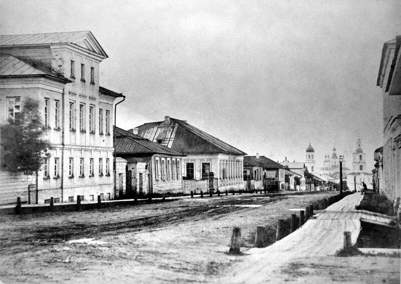 1874 Вятка. Московская улица. В.Е.Бишневский.jpg