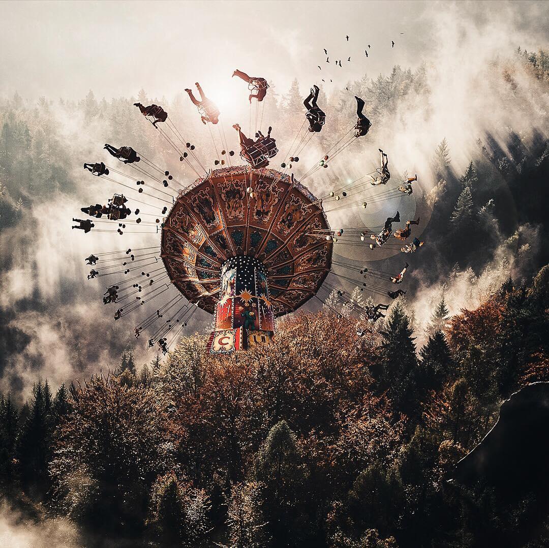 Сказочные фотоманипуляции Джастина Питерса