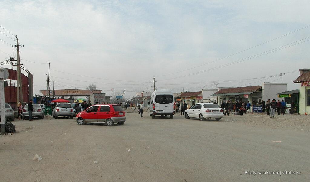 КПП Достук, Кыргызстан