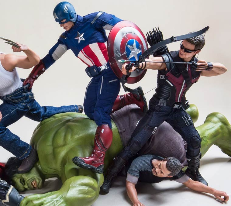 featured unusual Photography popular geek universe super-heros