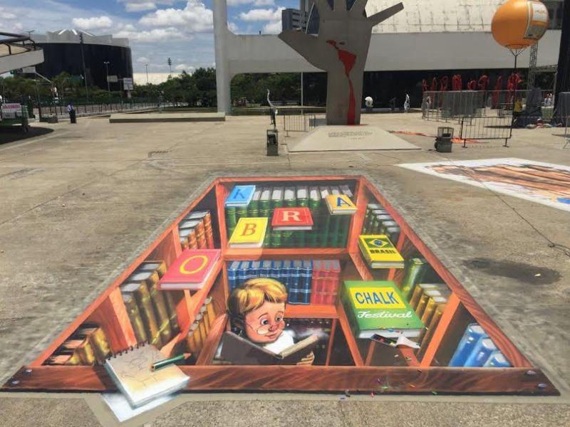 Eduardo Kobra anuncia que fara festival de 3D no Memorial da America Latina