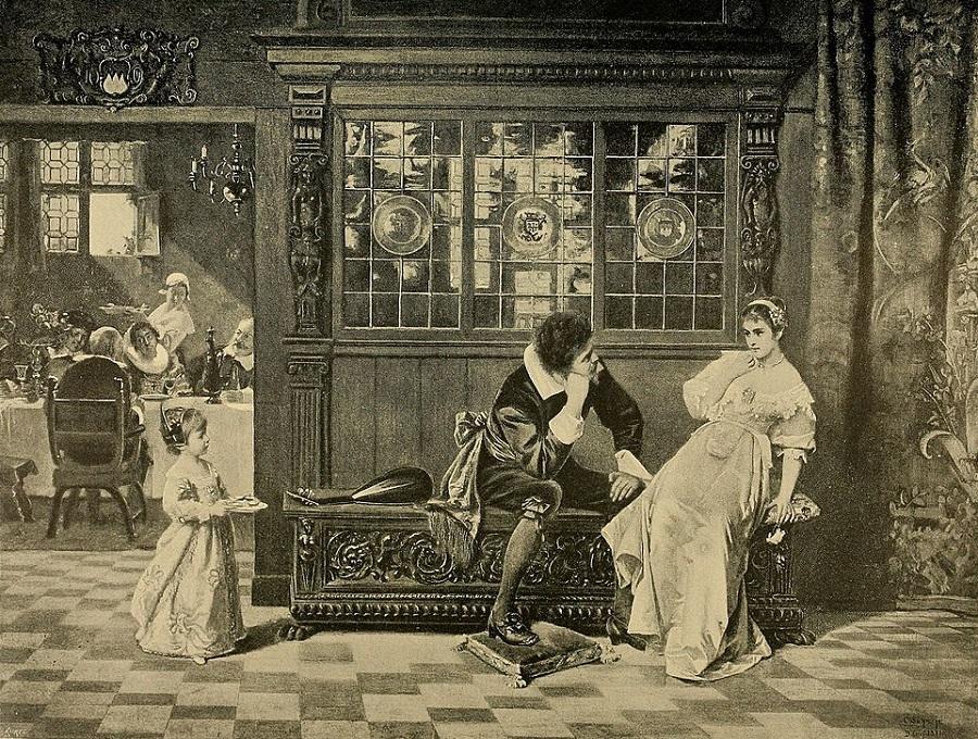 A Welcome Interruption 1888