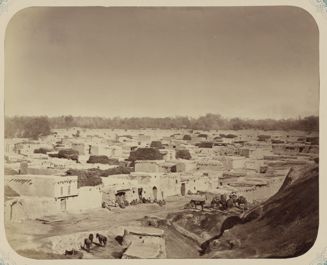 Ката-Базар, часть города