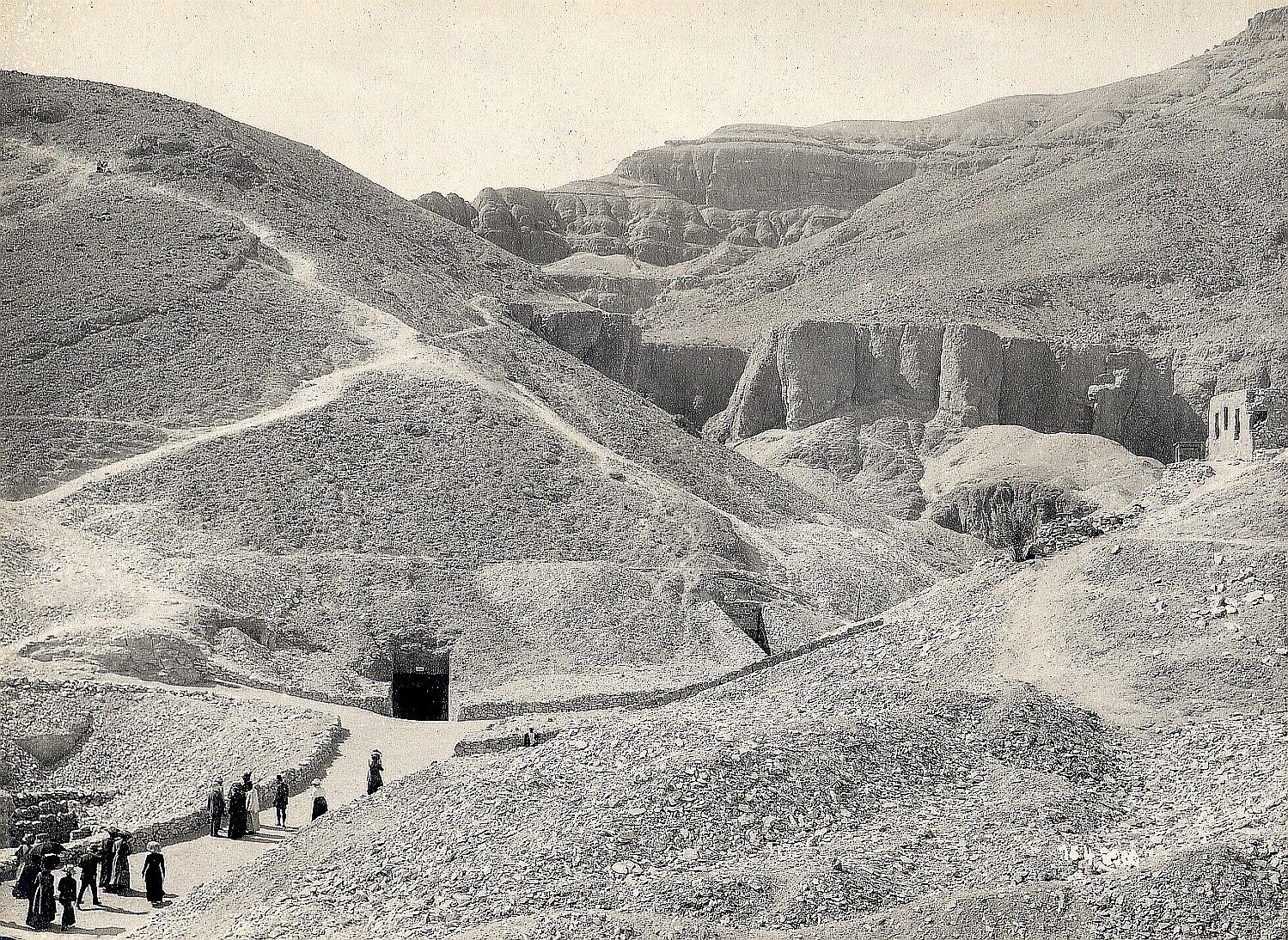 Фивы. Царские гробницы в Долине царей