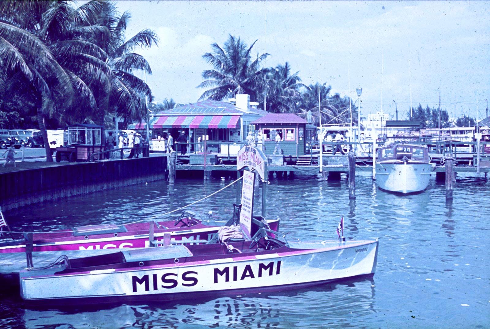 Майами. Скоростной мотор «Мисс Майами»