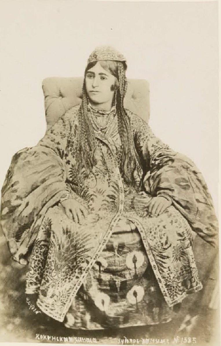 Кокандская ханша, жена Худояр-хана III. 1880-е