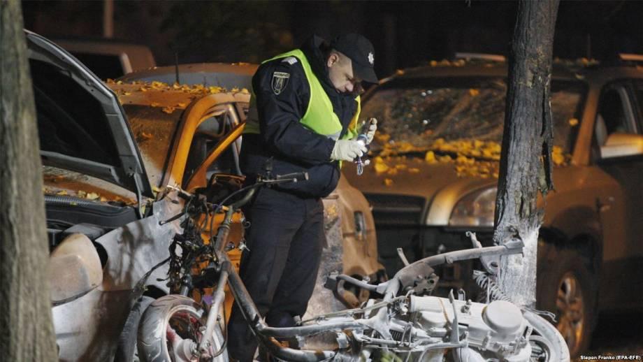 Грицак: задержан один из подозреваемых в организации взрыва возле «Эспрессо»