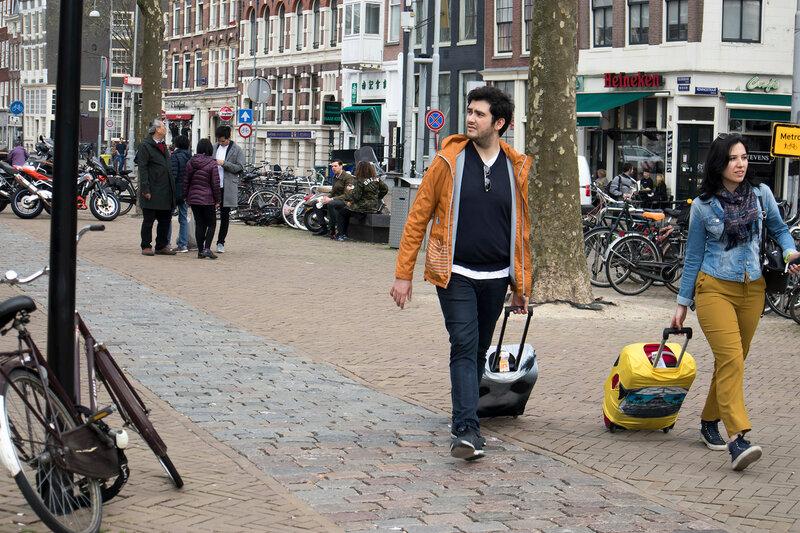 Amsterdam, Holland - 14 April 2018