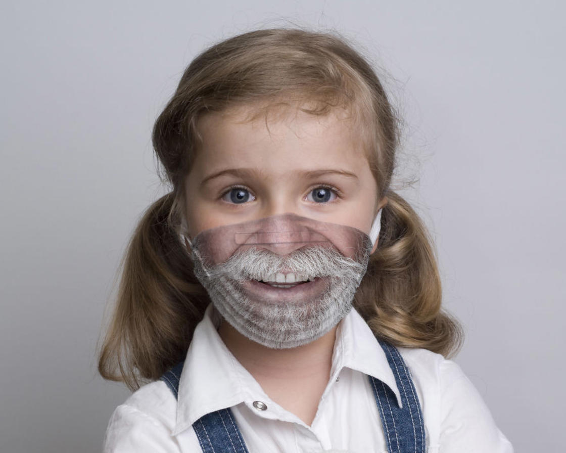 These funny surgical masks will help children to live better the hospital