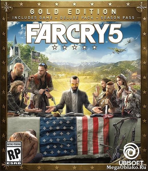 Far Cry 5: Gold Edition [v 1.011 + DLCs] / Фар Край 5 (2018/RUS/ENG/Full/RePack by xatab)