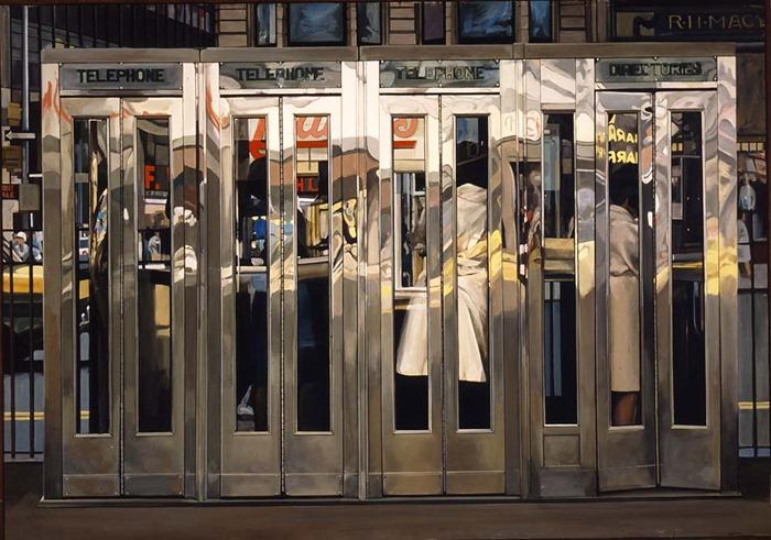 Photorealistic Paintings - Richard Estes