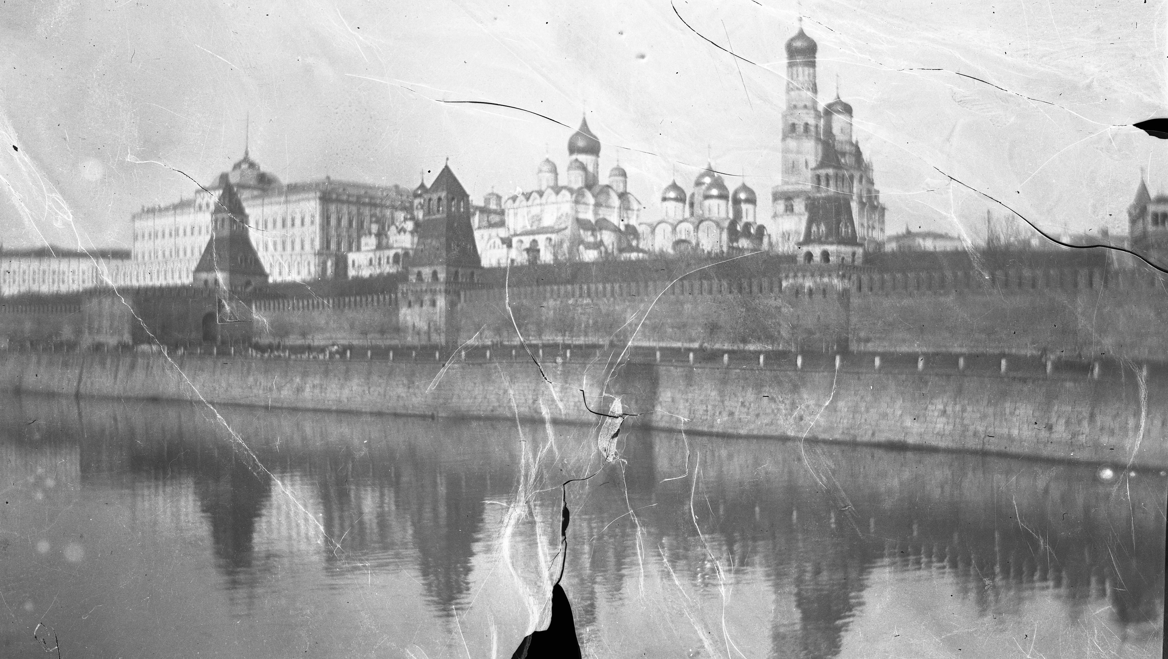 Вид на Кремль из Замоскворечья. 1913