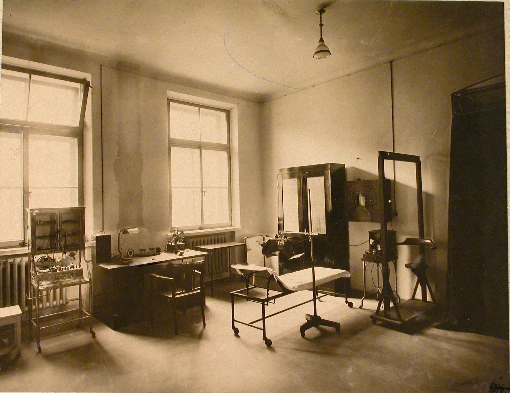 Общий вид рентгеновского кабинета