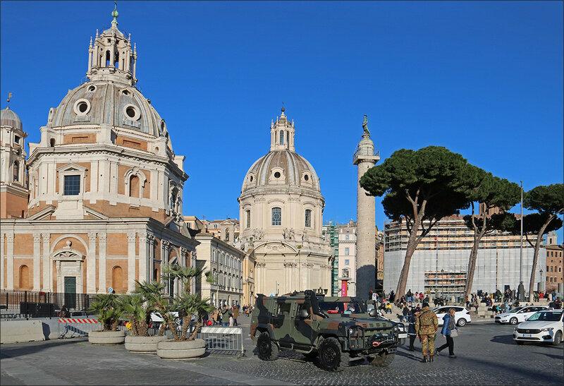 Рим в третий раз. Февраль 2018.