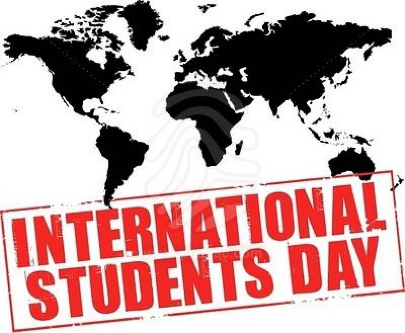 Открытки. Международный день студента. Мир принадлежит студентам