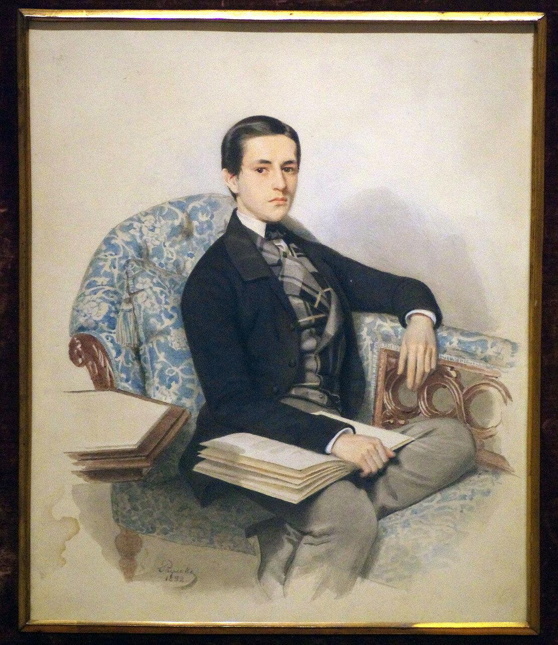 Иван Петрович Раулов. Портрет князя Э.В. Голицына. 1852