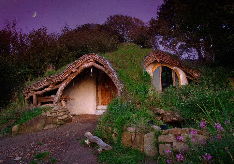 Сказочные дома для истинных ценителей природы (10 фото)