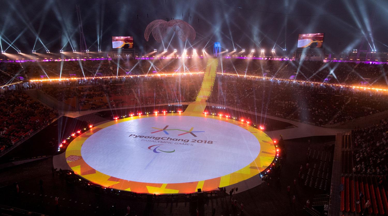 Корея Паралимпиада Пхенчхан спортсмены церемония открытия